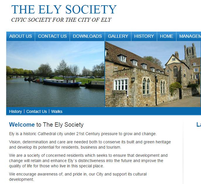 Ely Society Web