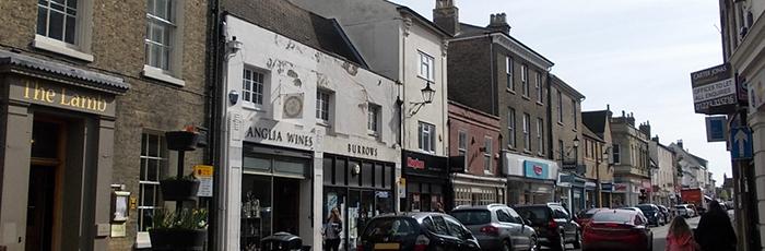Ely High street photo