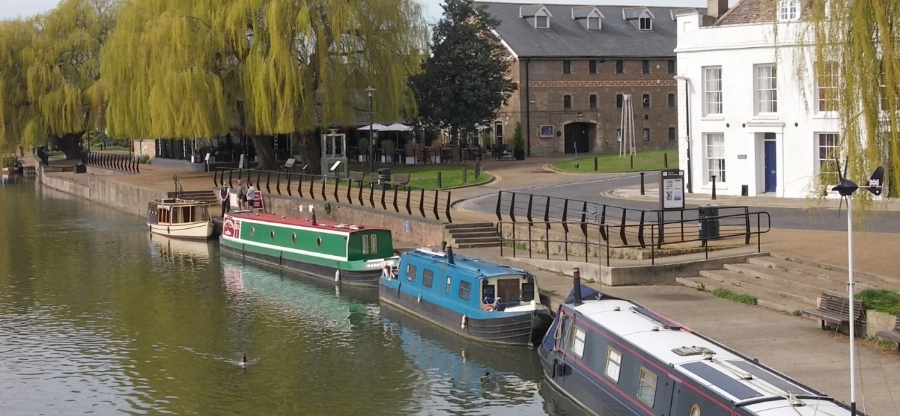 The City of Ely Canal water