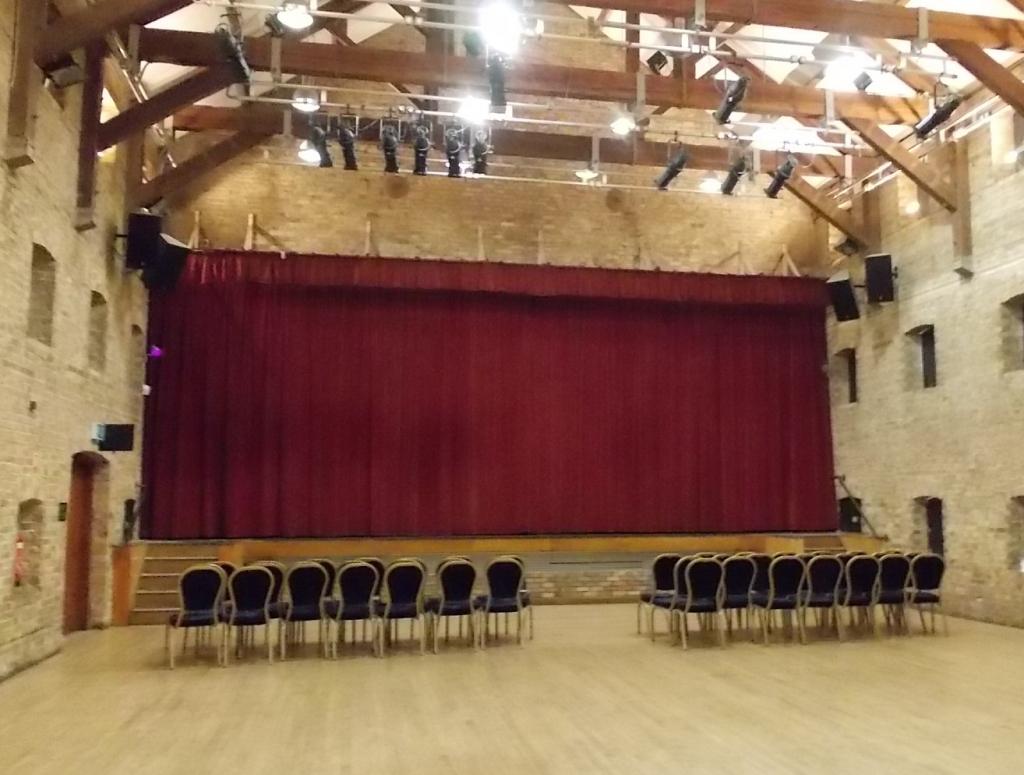 Ely Maltings Inside hall photo